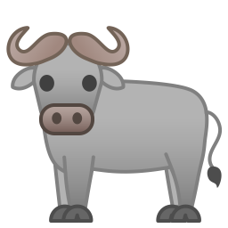 Water buffalo icon