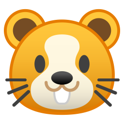 Hamster face icon