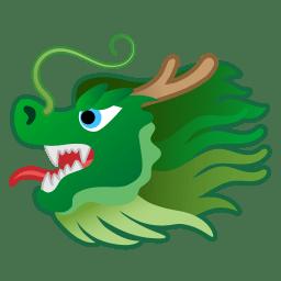 Dragon face icon