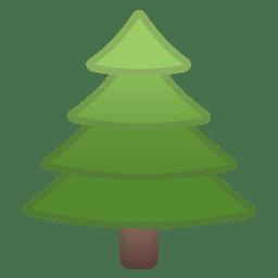Evergreen tree icon