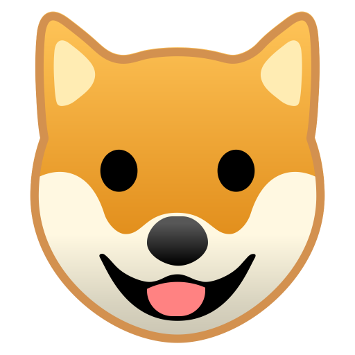 22214-dog-face icon