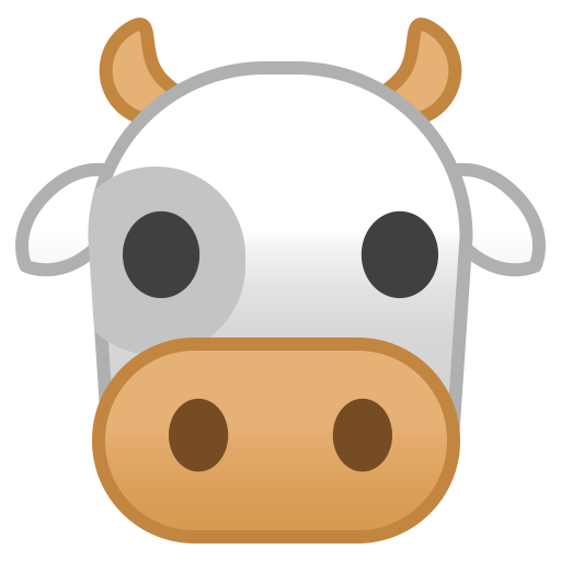 22231-cow-face icon
