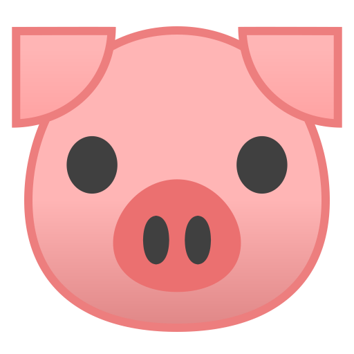 22235-pig-face icon