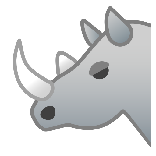 22247-rhinoceros icon
