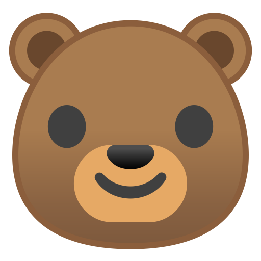 22259-bear-face icon