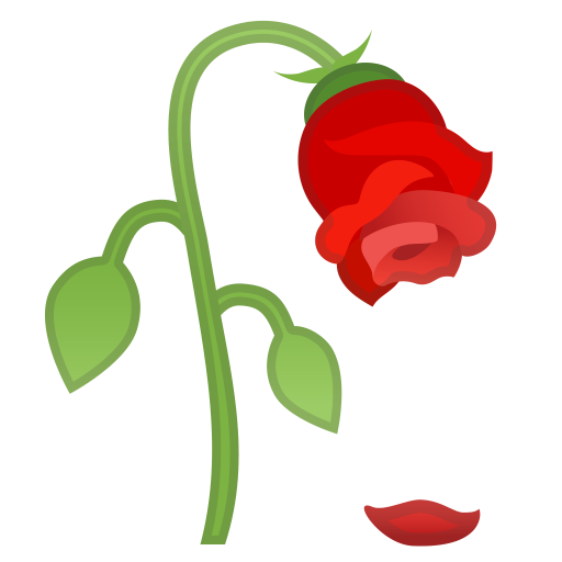 Wilted flower icon