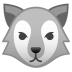22217-wolf-face icon