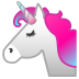 22228-unicorn-face icon