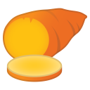 Roasted sweet potato icon