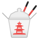 Takeout box icon