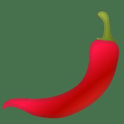 Hot pepper icon