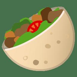 Stuffed flatbread icon