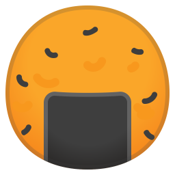 Rice cracker icon
