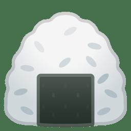Rice ball icon