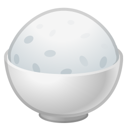 Cooked rice icon