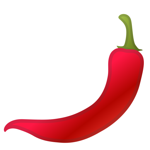 Hot pepper icon