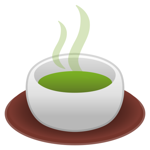 Teacup without handle icon