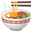 Steaming bowl icon