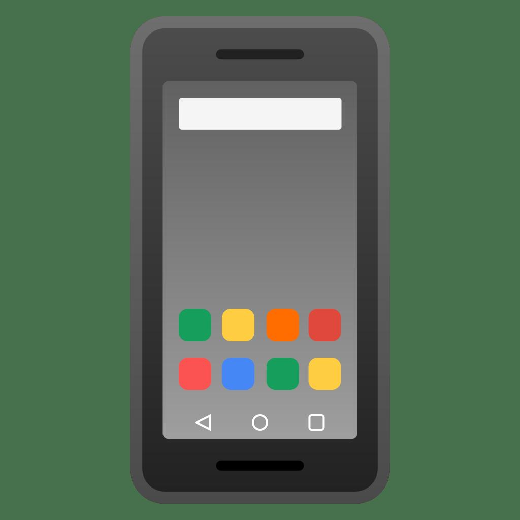 Mobile phone Icon   Noto Emoji Objects Iconset   Google