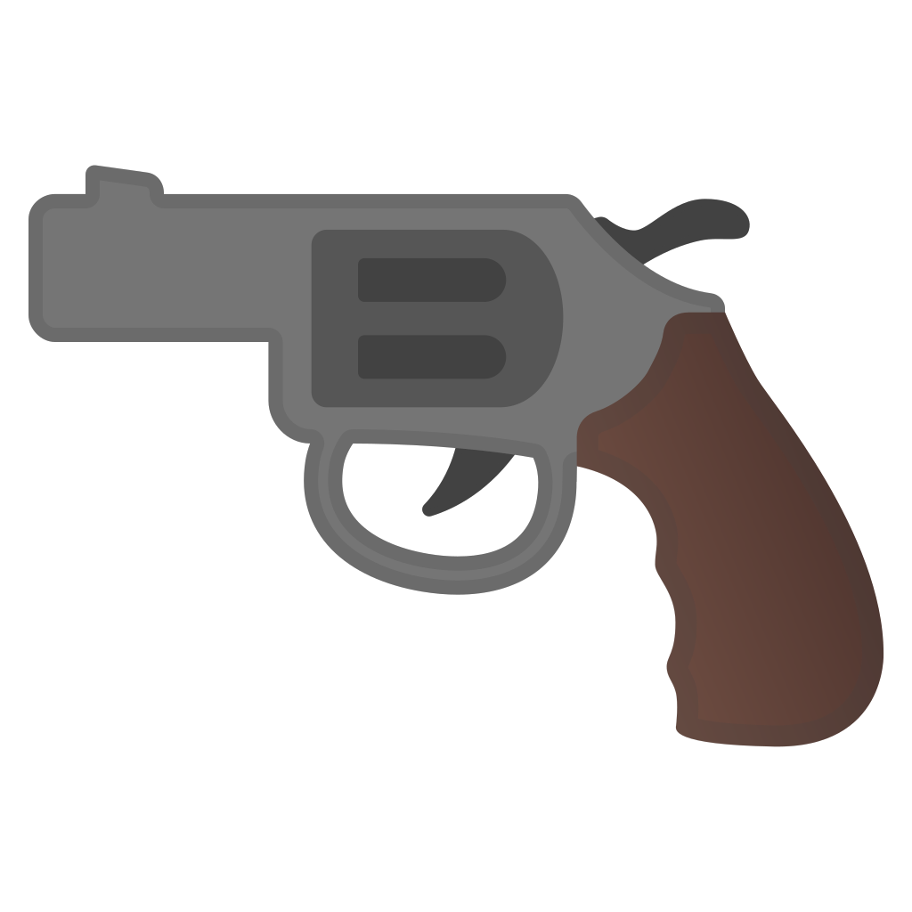 Pistol Icon   Noto Emoji Objects Iconset   Google