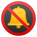Bell with slash icon