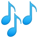 Musical notes icon