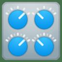 Control knobs icon