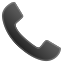 Telephone receiver icon