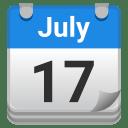 Tear off calendar icon