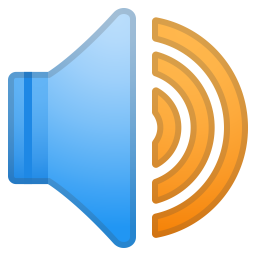 Speaker high volume icon