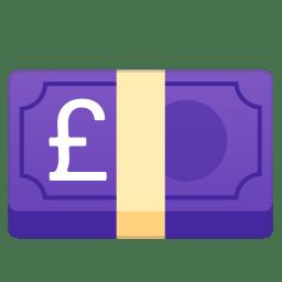 Pound banknote icon