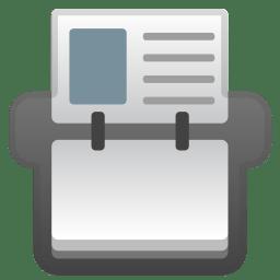 Card index icon