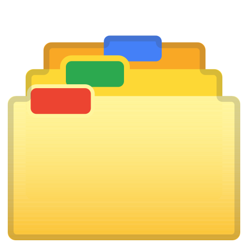 62919-card-index-dividers icon