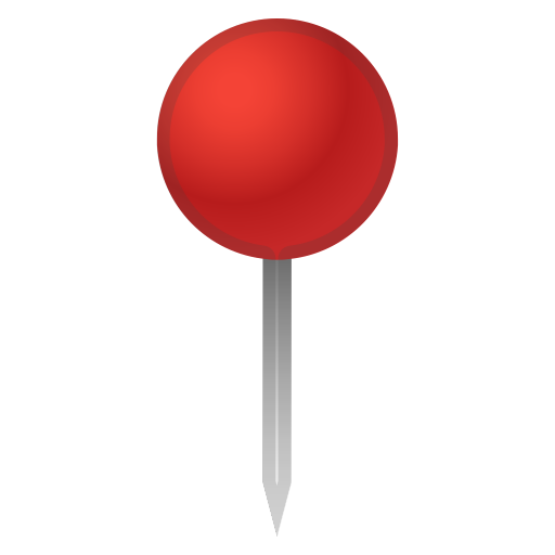 Round pushpin icon