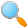 62850-magnifying-glass-tilted-left icon