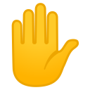11996-raised-hand icon