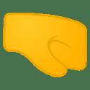 Right facing fist icon
