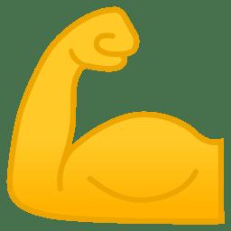 Flexed biceps icon