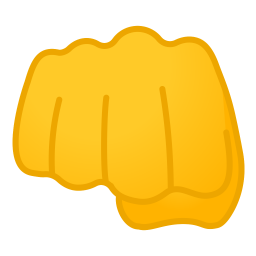 Oncoming fist icon