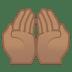 12090-palms-up-together-medium-skin-tone icon