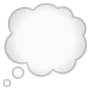 Thought balloon icon