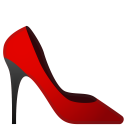 High heeled shoe icon