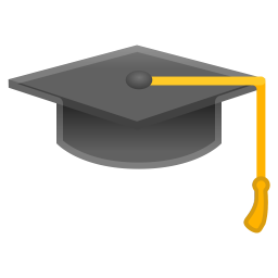 Graduation cap icon
