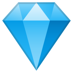 Gem stone icon