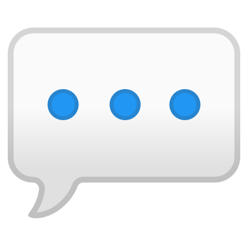 Speech balloon icon