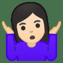 11196-woman-shrugging-light-skin-tone icon