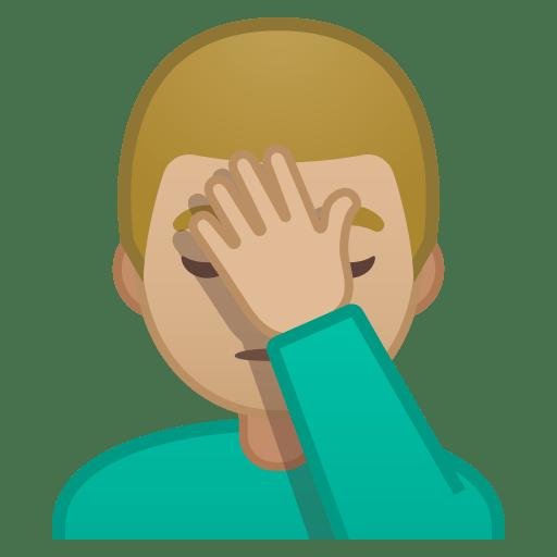 11156-man-facepalming-medium-light-skin-tone icon
