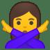11014-woman-gesturing-NO icon