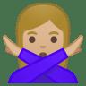 11018-woman-gesturing-NO-medium-light-skin-tone icon