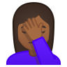 11172-woman-facepalming-medium-dark-skin-tone icon